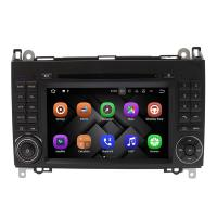 Android 8.0 Mercedes Benz DVD Player With Canbus Rear Camera AUX BT Manufactures