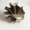 T04E 65.8/74.17mm turbine shaft&wheel /turbo wheel /turbo shaft for turbocharger Manufactures