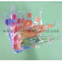 Beverage Plastic bag with Bottle shape Manufactures