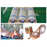 ISO ED Copper Foil PTC Resistance More Than 220 MPa Tensile Strength Manufactures