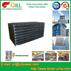 Power Plant CFB Boiler Economizer Tubes / Economizer Heat Exchanger Manufactures