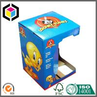 Glossy Custom Color Print Open Window Paper Corrugated Toy Packaging Box Manufactures