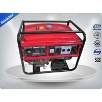 5kw Portable 3000rpm Gasoline Generator Set Low Noise With AVR Manufactures
