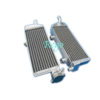 Quality High Strength Custom Brazd Aluminum Motorcycle Radiator For KTM SXF250 2007 for sale