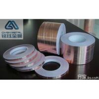 Waterproof Heat Insulation UV Resistance Copper Conductive Tape Thickness 0.025mm Manufactures