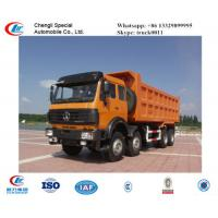 North Benz 50ton 380hp dump truck for sale, hot sale North Benz heavy duty 8*4 LHD 40tons dump tipper truck Manufactures