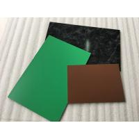 Yellow PVDF Aluminum Composite Panel , Rustproof Exterior Aluminum Panels  Manufactures