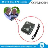 Personal wearable gps tracker chips elderly with free IOS& Android APP software Manufactures