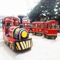 Indoor Kiddie Train Ride High Power Animal Shapes AC Motor Power 3KW Manufactures