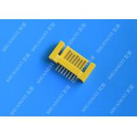 Yellow External Serial ATA 7 Pin Connector Male Header Serial ATA SATA Connector Manufactures