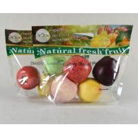Disposable Plastic Fresh Fruit Packaging Bags Custom Printing With Punching Hole Manufactures