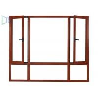 Quality International Style Aluminium Casement Windows Fly Mesh For Hospitals / School for sale
