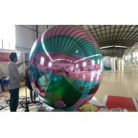 Giant Colorful Inflatable Mirror Ball For Club Decoration CE Appoval Manufactures