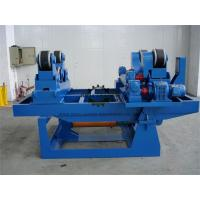 Hydraulic Rubber Lined Steel Pipe Rollers For Welding 20 Loading Capaicty  Iso Approved Manufactures