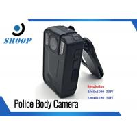 140 Degree Security Guard Wearable Video Camera Police 3500mAh 1296P Manufactures