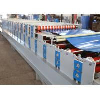 Quality Aluminum Roof Sheet Double Layer Roll Forming Machine , IBR Step Tile Roll Forming Machine for sale