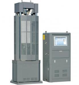 Computer Controlled Servo Hydraulic Universal Testing Machine 100 Ton UTM Equipment Manufactures