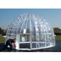 1.0mm PVC Inflatable Transparent Tent Inflatable Clear Bubble Tent Manufactures