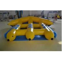 Summer Beach Inflatable Water Toys 0.9 Mm PVC Tarpaulin Yellow Flying Fish Manufactures