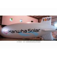 Inflatable Zeppelin Air Balloon / Helium Advertising Blimp For Commercial Event Manufactures