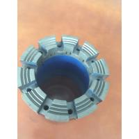 High Speed Penetration T6 Series HQ Core Diamond Drill Bit Turbo Type Customized Manufactures