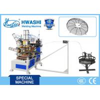 Spiral Wire Looping Automatic Welding Machine For Industrial Fan Guard Mesh Manufactures