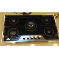 China Popular Italy Sabaf 5 Burners Durable Kitchen Built-in Gas Hob on sale