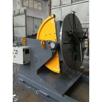 Welding Positioner Turning Table Use 500 Diameter Welding Chuck , Loading Capacity 1200Kg Export Russia Manufactures