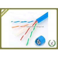 China 23AWG Gigabit Cat6e Network Cable For Security POE Monitoring Project on sale