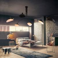 Buy cheap Vintage Loft Suspension Ceiling Lights For Indoor home Kitchen Bedroom Lighting from wholesalers