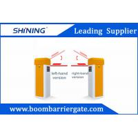 Sliver / Orange Color Car Parking Barrier Gate For Community Vehicle Entrance Manufactures