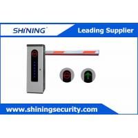 High Integrated Parking Lot Barrier Gate / Parking Boom GatesWith Loop Detector Manufactures