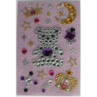 Fashionable Recollections Bling Stickers Shinning Glitter For Mirrors OEM for sale