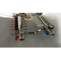 S S 201 Floor Heating Manifold With Two Ball Valve / Brass Water Manifold Manufactures