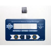 Thin Flexible PET Membrane Switch Keyboard With Transparent Window Manufactures