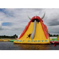 Buy cheap Huge Inflatable Floating Water Slide For Kids Or Adults / Outdoor Inflatable from wholesalers