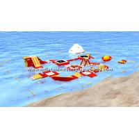Advertising Giant Inflatable Water Park , Inflatable Water Playground Manufactures