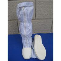 Convenient ESD Anti Static Clean Room Booties Easy Clean For Electronics Factory Manufactures
