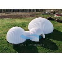 Air Tignt Camping Inflatable Tents Air Dome Tent For Amusement Park Manufactures