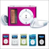 MP3 Player Mini Clip With LCD Manufactures