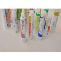 Squeeze Metal Aluminum Packaging Tubes For Gels / Creams / Ointments Manufactures