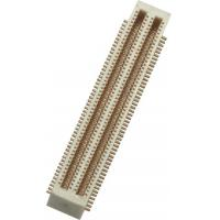 0.5mm 2*50P SMT Board to Board Connector with post Phosphor PA9T Bronze Gold Flash Manufactures