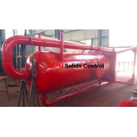 Aipu solids control APMGS mud gas separator for sale used in fluids system Manufactures