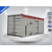 Container type Cummins diesel genset power with prime power 900 kw Manufactures