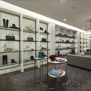 Wholesale handbag display stand for handbags store interior design decoration Manufactures