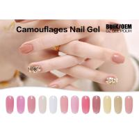 15ml Camouflage Nail Gel No Heat Builder Gel With 24 Colors Sample Provided Manufactures