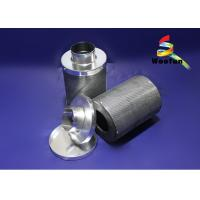 Ventilation System Carbon Air Filters , Durable Lightweight 6 Carbon Filter Manufactures