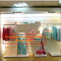 Nice decoration fashion Sports clothing store interior design Manufactures