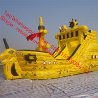 giant inflatable pirate ship slide Manufactures