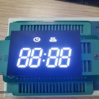 Custom Design Low Cost Ultra White 4 Digit LED Clock Display For Oven Timer Control Manufactures